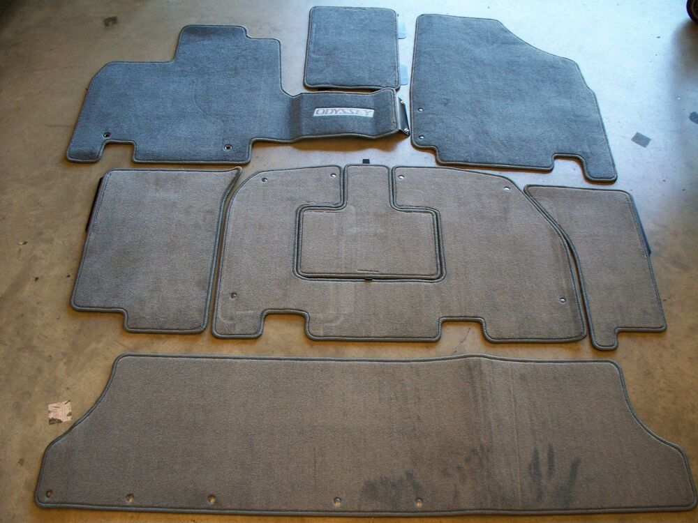 Genuine Oem 2005 2006 Honda Odyssey Gray Carpet Floor Mats