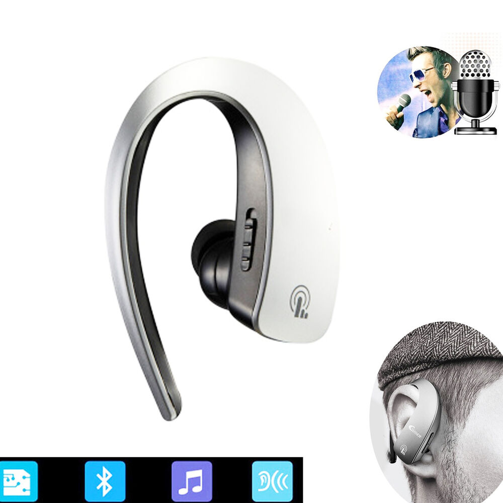 bluetooth headphones stereo headset earphone for apple iphone 6 6s plus 5s 4s 5c ebay. Black Bedroom Furniture Sets. Home Design Ideas