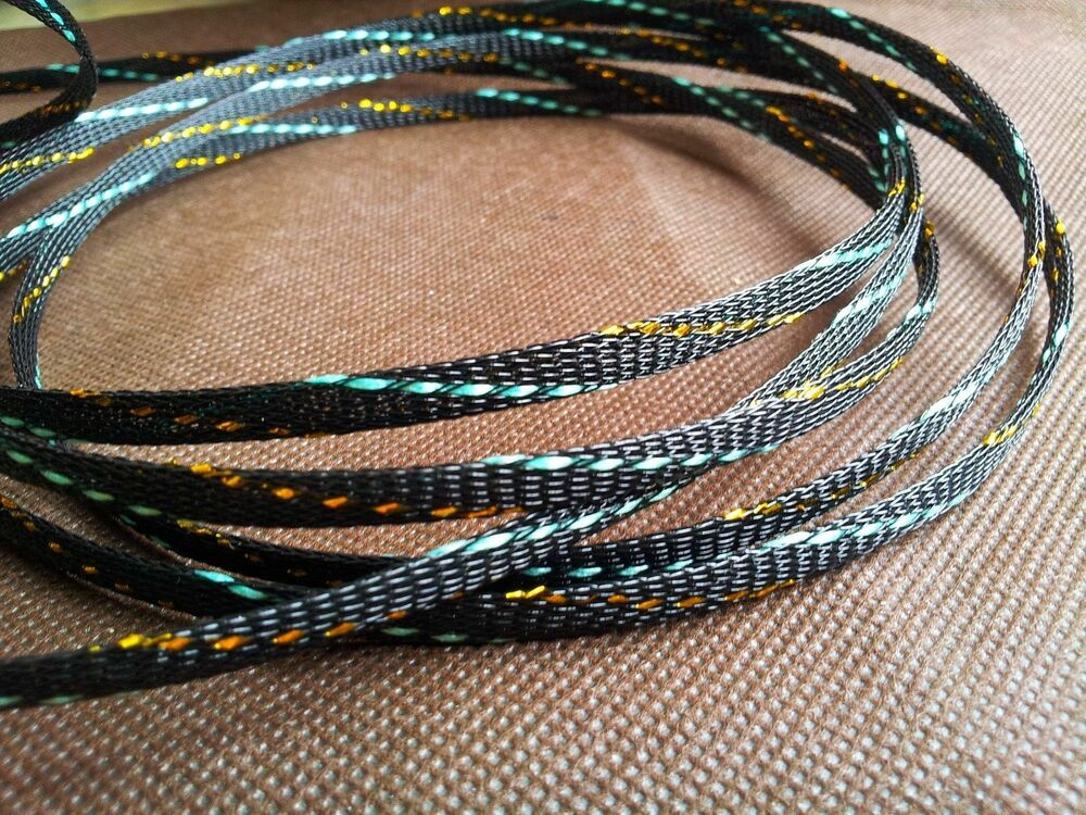 Speaker Cable Sleeve : hifi rca speaker audio cable sleeving braided 5mm expandable sleeve ebay ~ Russianpoet.info Haus und Dekorationen