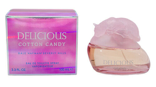 Delicious Cotton Candy by Gale Hayman 3.3 oz EDT Perfume for Women New In Box