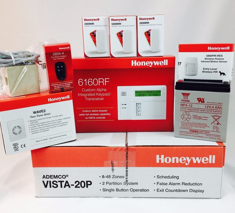 Honeywell Vista 20p 6160rf 3 5800mini D W Senors