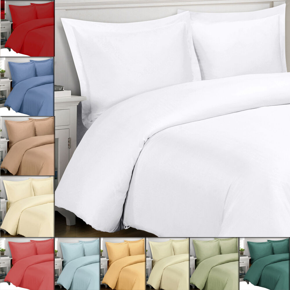 Super Soft 100 Viscose From Bamboo Duvet Cover Set 300
