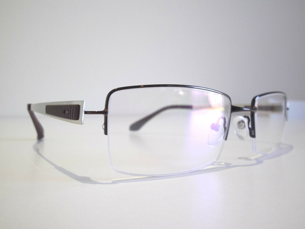 Semi Rimless Optical Eyeglasses Designer Spectacles ...