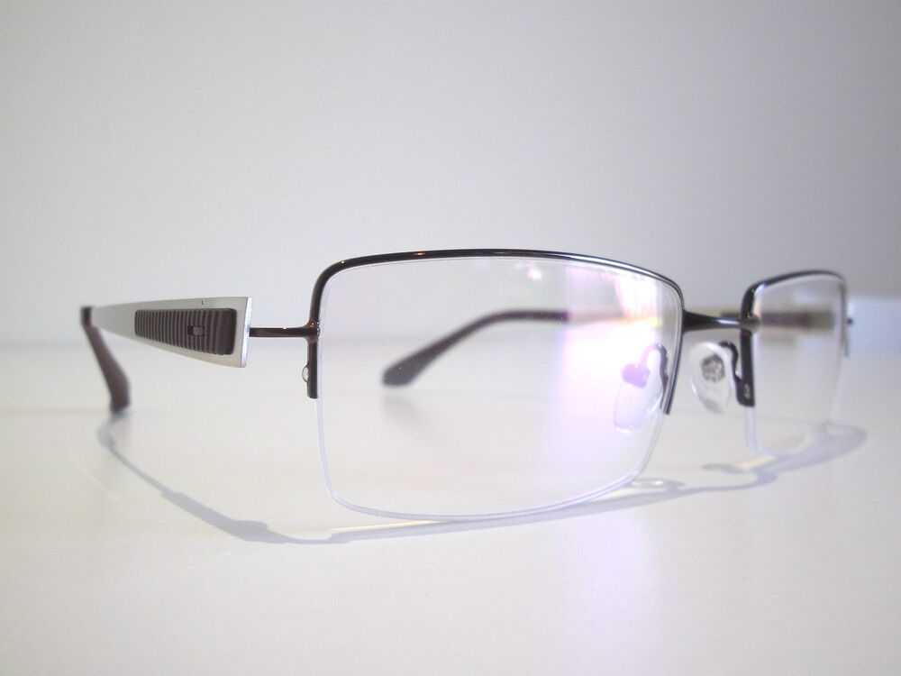 Designer Rimless Eyeglasses : Semi Rimless Optical Eyeglasses Designer Spectacles ...