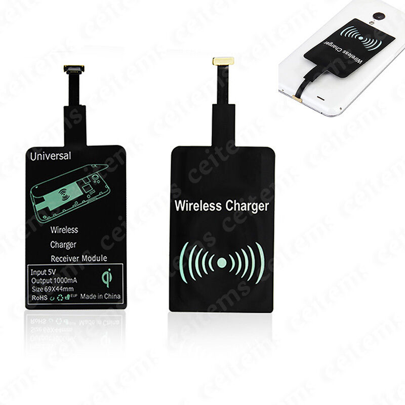 qi wireless charging receiver charger module for micro usb. Black Bedroom Furniture Sets. Home Design Ideas