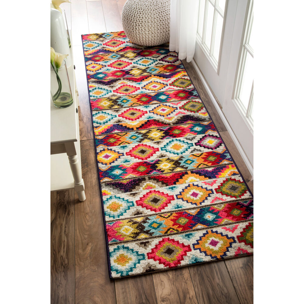 Kitchen Rug Washable 3x5 Kitchen Rug Mat Burgundy Beige