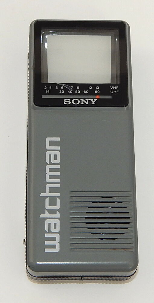 Portable T V S : Vintage sony watchman portable tv fd a tiny handheld