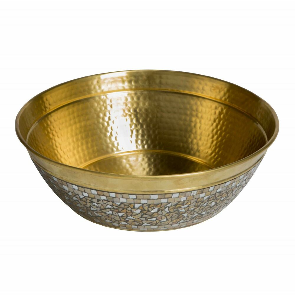 Sinkology Shockley 16 Inch Solid Brass Vessel Sink With