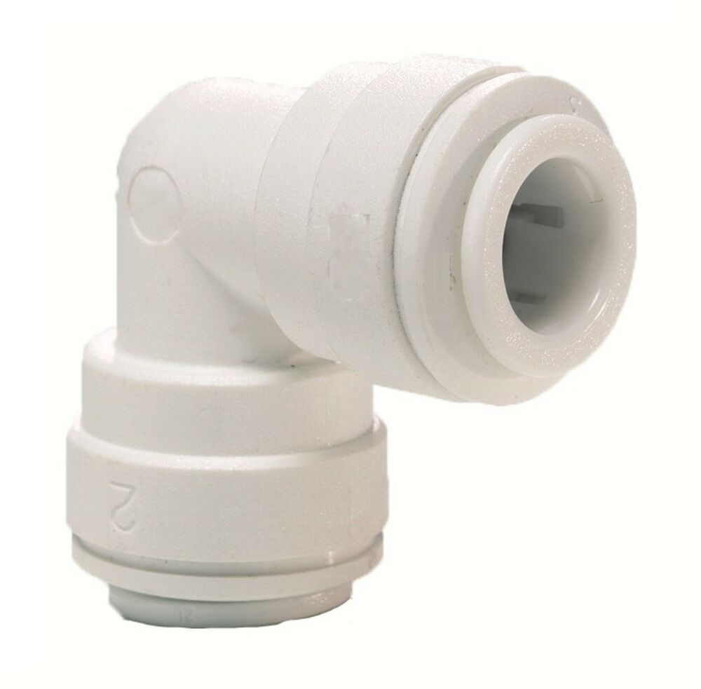 elbow connector 1 4 for water pipe tubing filter systems. Black Bedroom Furniture Sets. Home Design Ideas