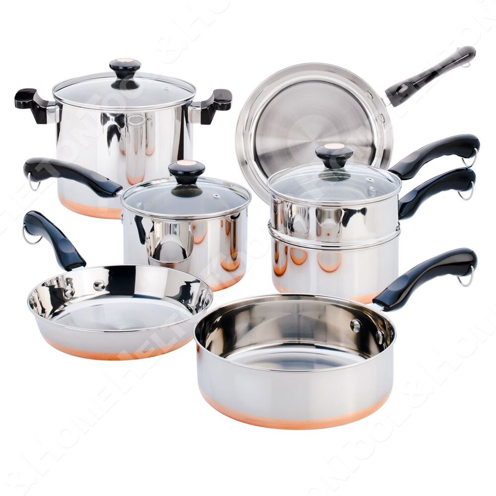 copper bottom stainless steel cookware thrill