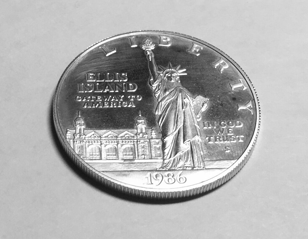 1986 S Statue Of Liberty Centennial Commemorative One