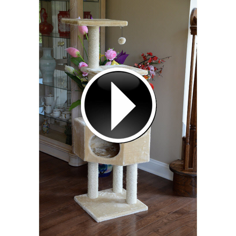 Cat Tree Tower Kitty Trees Condo Scratch Scratching Posts