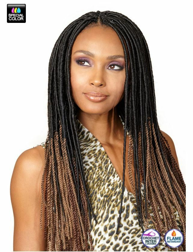 Crochet Hair Over Locs : BOBBI BOSS DREAD TWIST LOC LOCS BRAID FAUX HAIR eBay