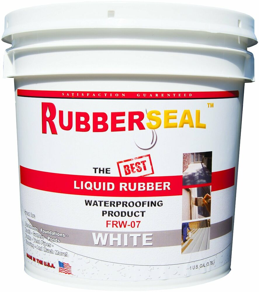 Paint Rubber Roof White