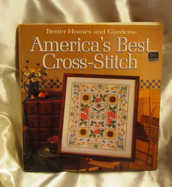 Better homes and gardens america 39 s best cross stitch 1988 for Americas best home builders
