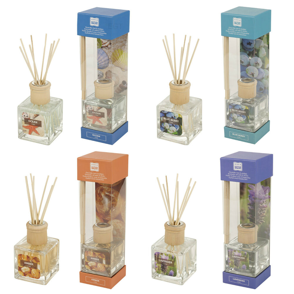 125ml Luxury Perfume Reed Diffuser Scent Air Freshener