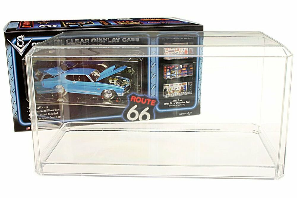 Toy Car Case : Scale acrylic display case for diecast model toy cars