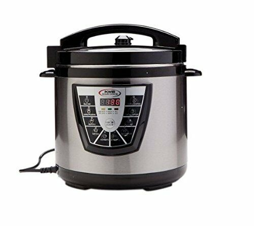 Electric Pressure Cooker On Tv ~ Power xl qt pressure cooker canner touch button