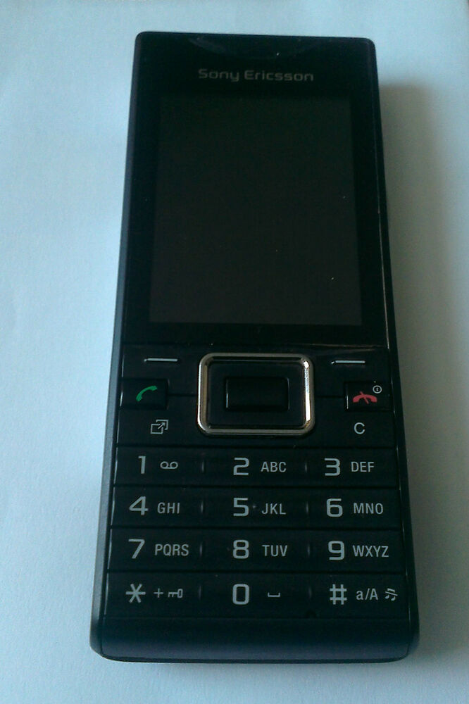 sony ericsson elm j10i2 black unlocked mobile phone ebay. Black Bedroom Furniture Sets. Home Design Ideas