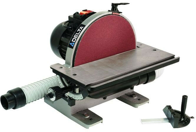 Delta 31 140 12 In Disc Sander With Integral Dust