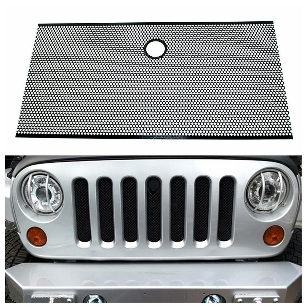 Front Grille Mesh Honeycomb Grill Insert Bug Screen For 07