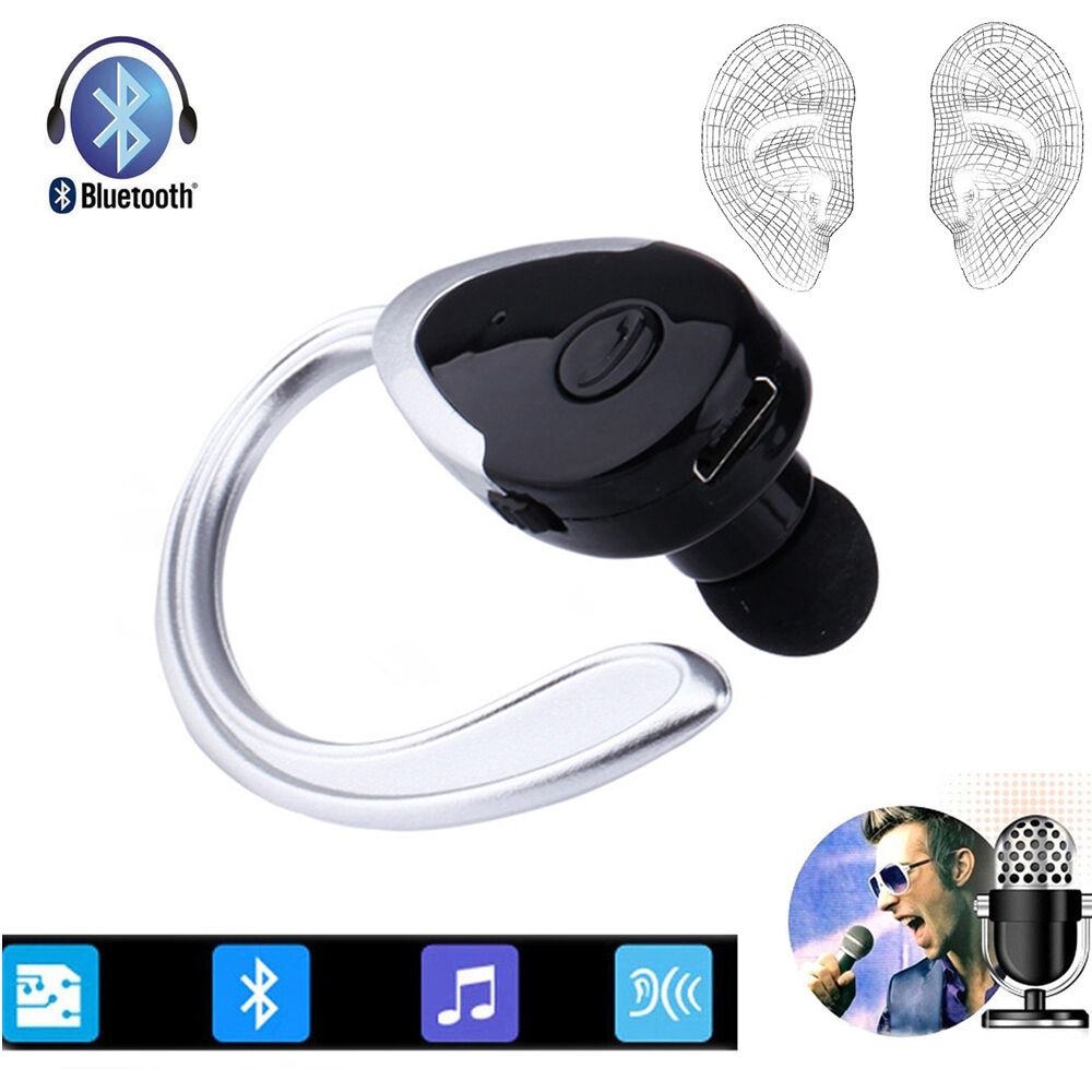 wireless hd stereo bluetooth headset for samsung galaxy s7 s6 edge motorola asus ebay. Black Bedroom Furniture Sets. Home Design Ideas