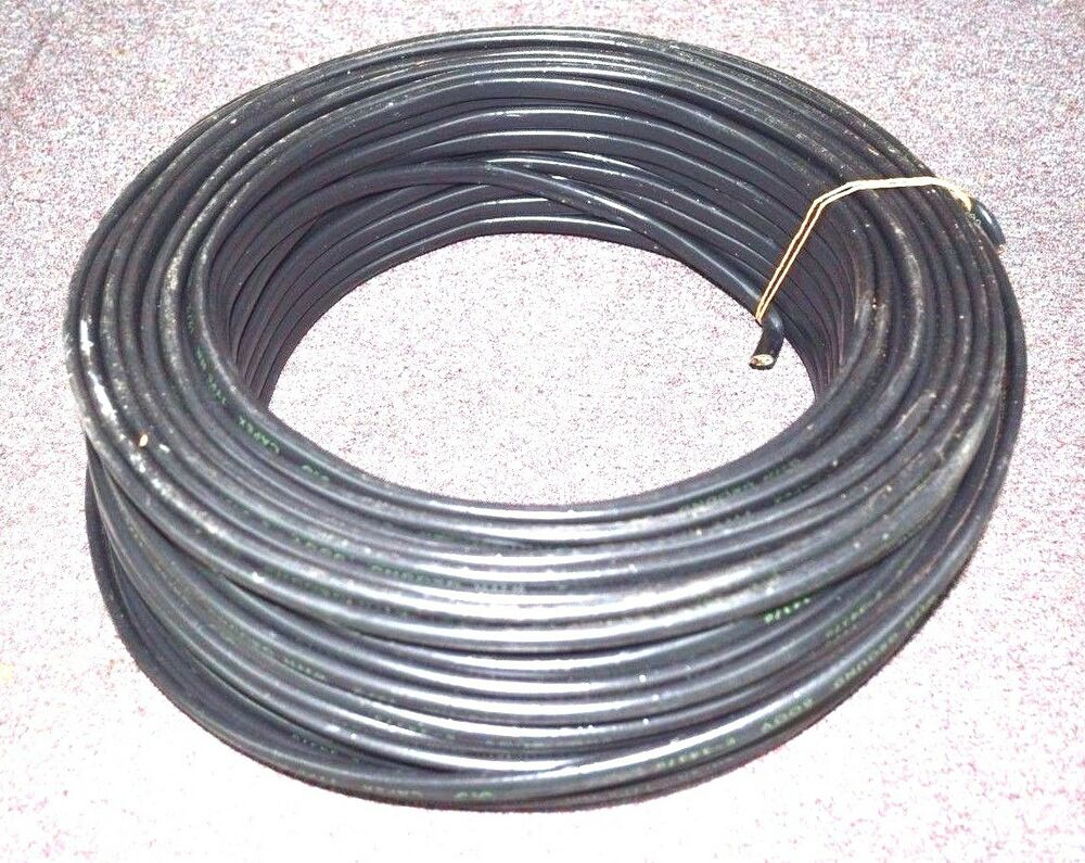 CAPEX Cable Wire 250\' 12/2 NM ROMEX Cable with Ground BLACK CU NOS ...