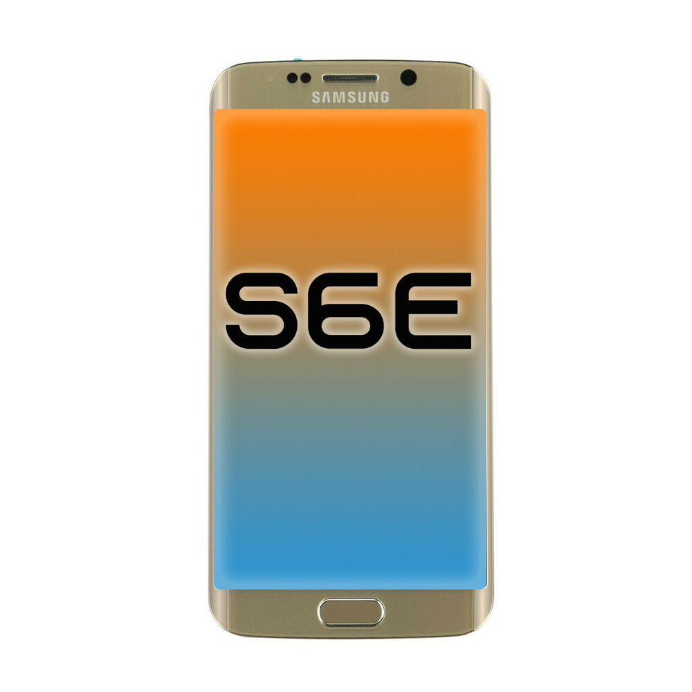 oem samsung galaxy s6 edge lcd display touch screen digitizer replacement gold ebay. Black Bedroom Furniture Sets. Home Design Ideas