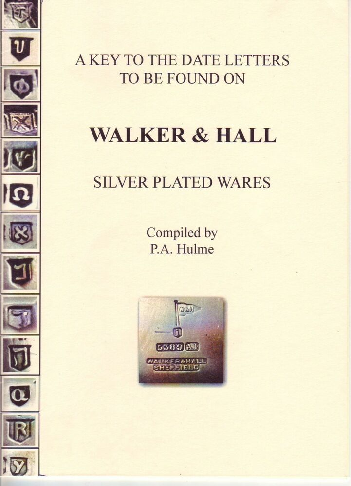 Dating walker hall silver plate