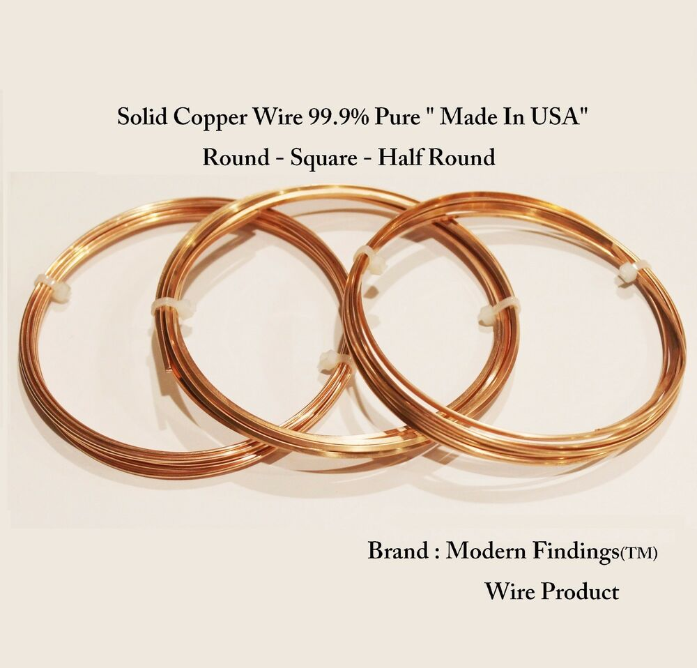 Solid Copper Wire Ampacity : Copper wire pure quality great choose shape size