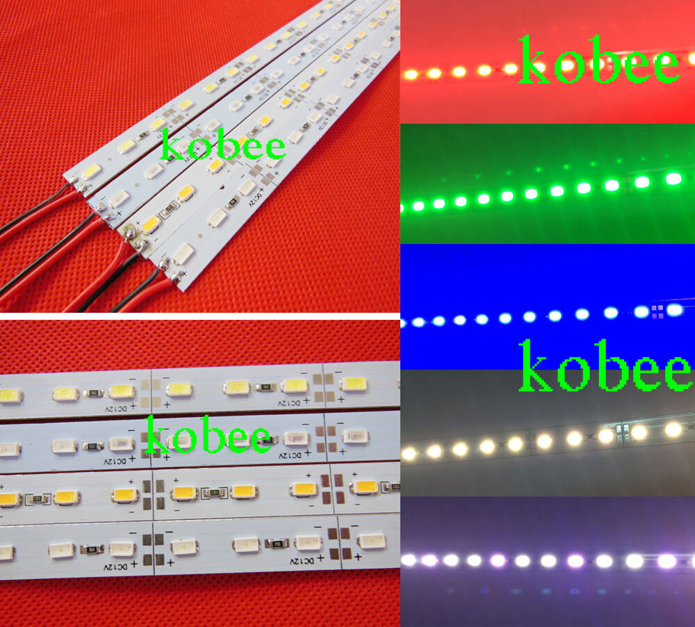 Aliexpress Com Buy 50cm Aluminum Led Smd3014 Chip Under: 5630 SMD 0.5M Cool/Warm White Red Green Blue Rigid Light
