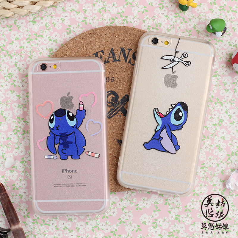funny cases for iphone 6 stitch creative soft bumper for 16982