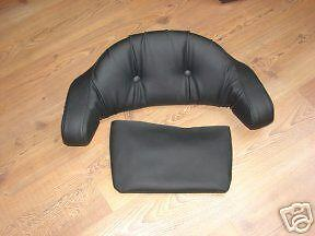 harley flht touring backrest cover pillow top ebay 87198