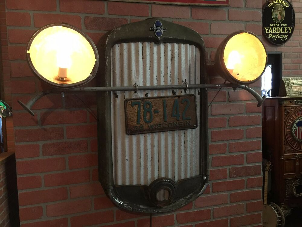 Vintage 1930 S Chevy Automotive Wall Art Retail Display