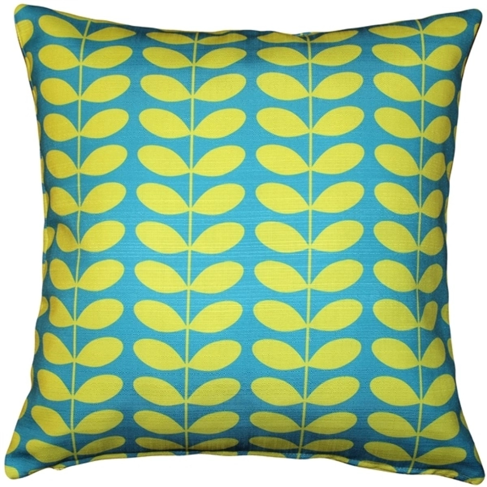 Pillow Decor - Mid-Century Modern Turquoise Throw Pillow 20x20 eBay