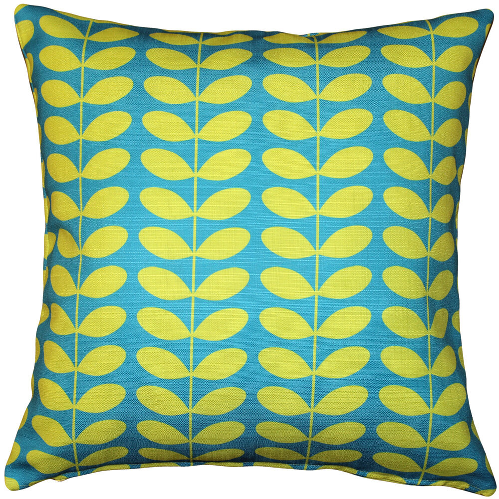 Modern Pillows And Throws : Pillow Decor - Mid-Century Modern Turquoise Throw Pillow 20x20 eBay