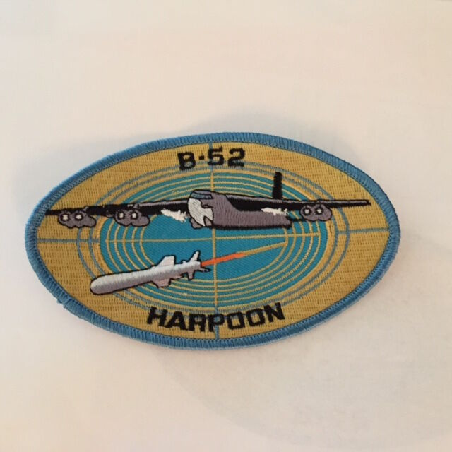 Boeing B 52 Stratofortress Of The U S Air Force History: USAF Boeing B-52 Stratofortress Patch BUFF Bomber Vietnam