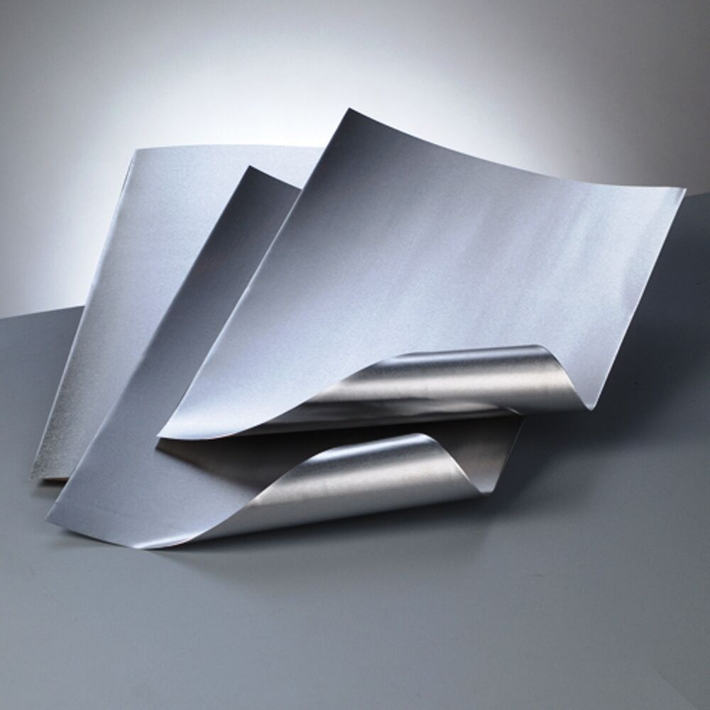 A4 Aluminium Embossing Metal Sheet Silver Silver 0 15mm