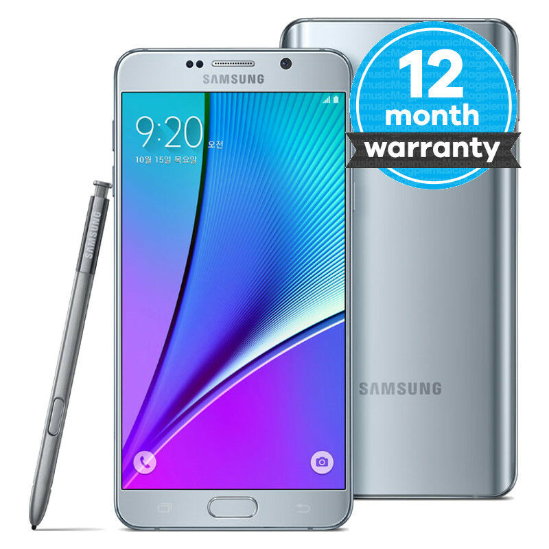 Details about Samsung Galaxy Note 5 SM-N920 - 32Gb - Silver Titan  (Unlocked) Smartphone 3517be9f7031
