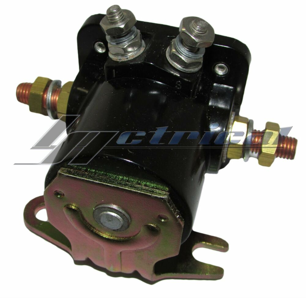 New Starter Hd Relay Winch Solenoid For Early Warn Winch
