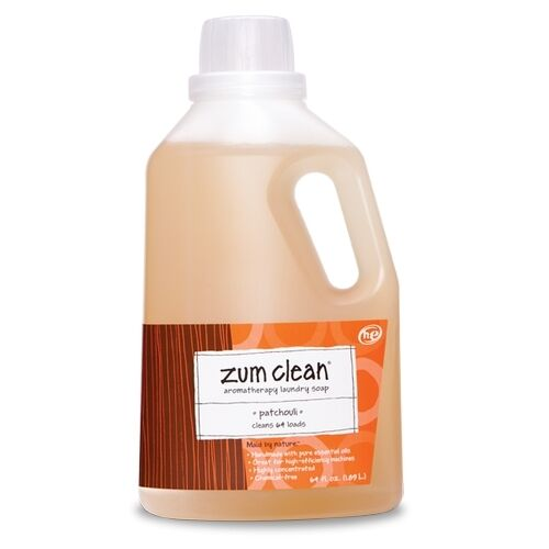 Zum Clean Aromatherapy Laundry Soap Patchouli 64oz Ebay
