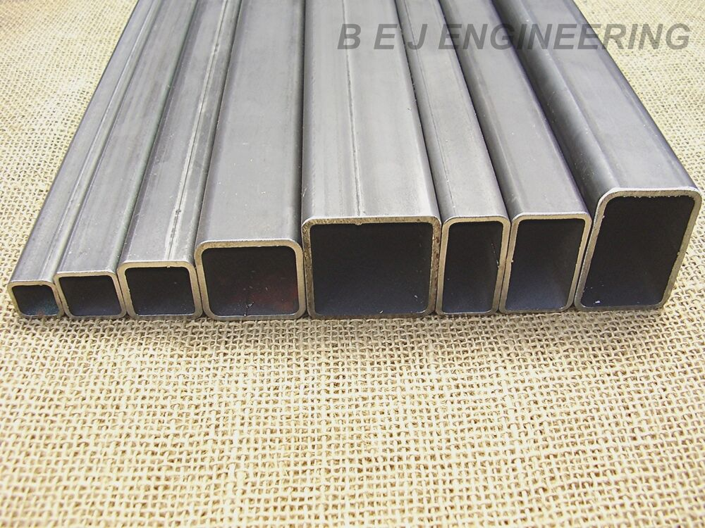 Mild steel box section square rectangular tube shs