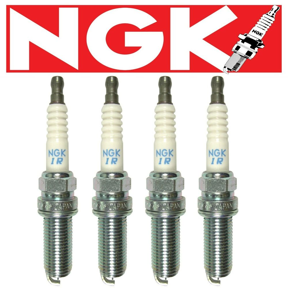 4 oem ngk laser iridium spark plugs honda accord 2 4l. Black Bedroom Furniture Sets. Home Design Ideas