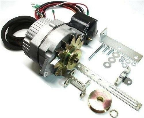 New Alternator Kit For Early Ford 8n  2n  And 9n Tractors Front Distributor