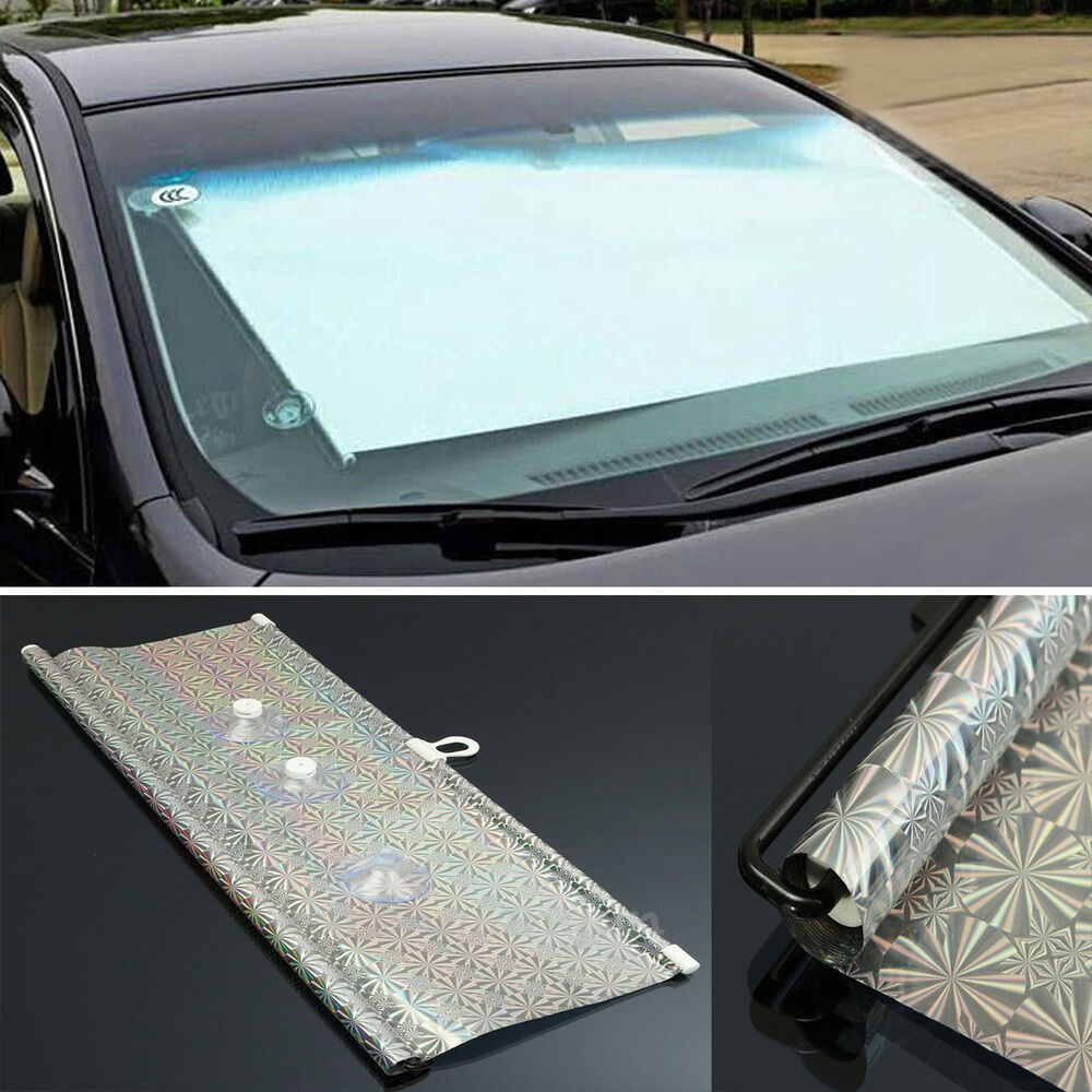 auto retractable car window blind roller sun shade shield curtain visor 50x125cm ebay. Black Bedroom Furniture Sets. Home Design Ideas