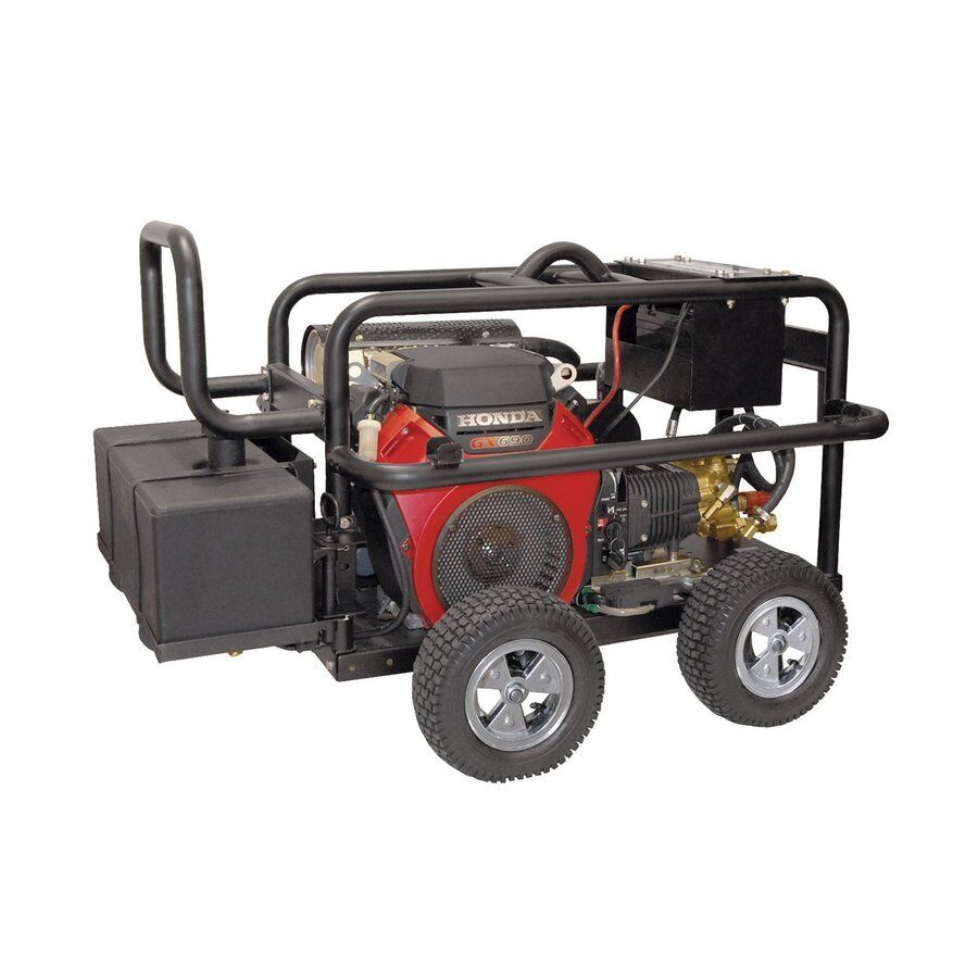 5000 psi 5 gpm carb compliant cold water gas power for Power washer with honda motor