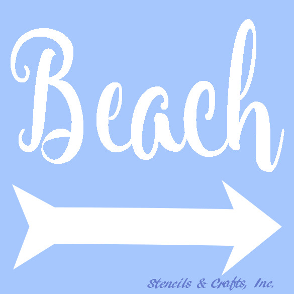 Comprehensive image intended for free printable beach stencils
