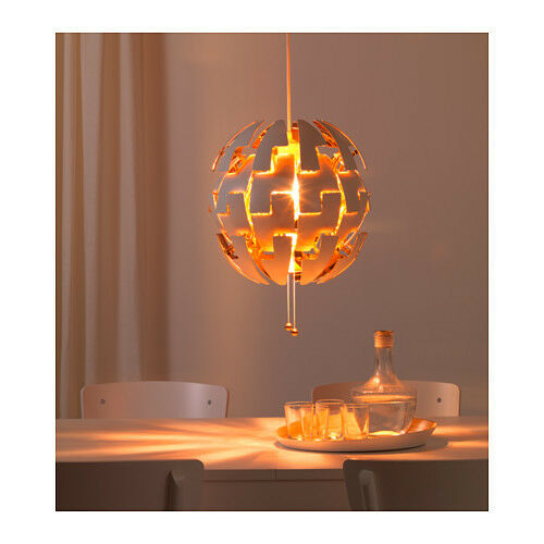 new ikea ps 2014 pendant lamp like the death star white copper color ebay. Black Bedroom Furniture Sets. Home Design Ideas