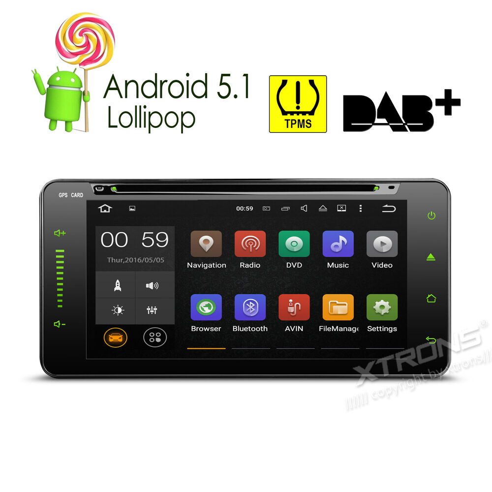 Android 5 1 Quad Core 7 Touch Ui 2 Din Car Stereo Dvd Gps Radio Obd2 For Toyota Ebay