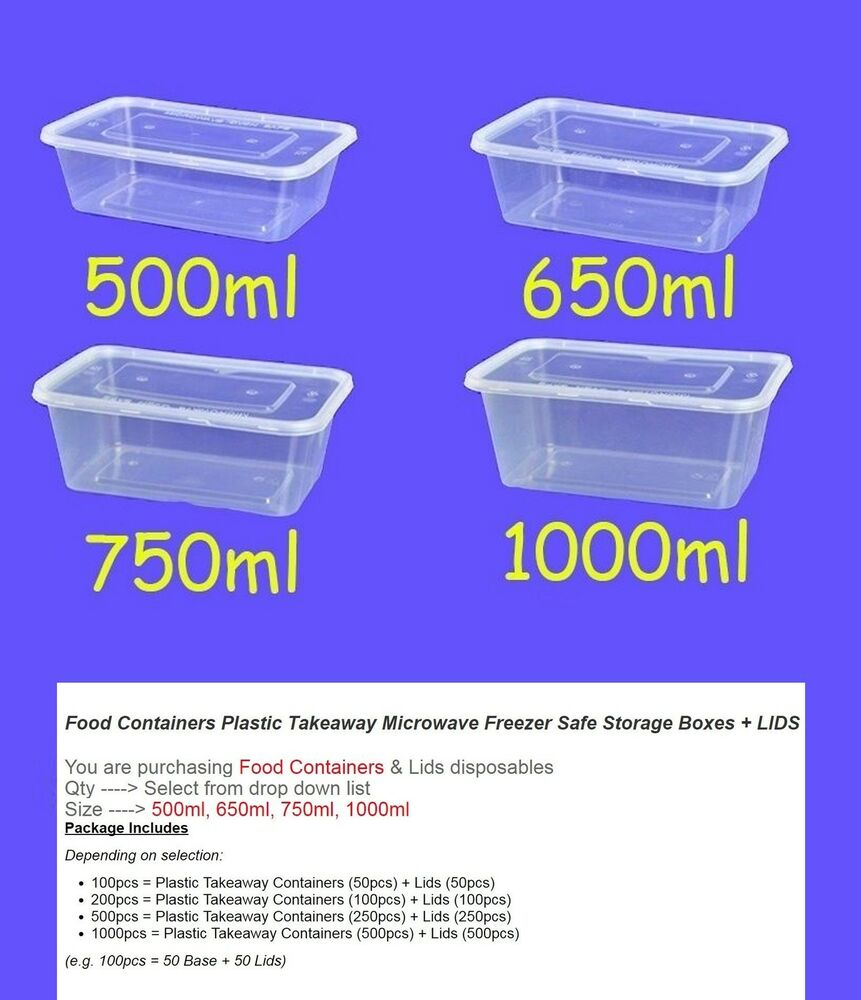 Ebay Food Container Plastic